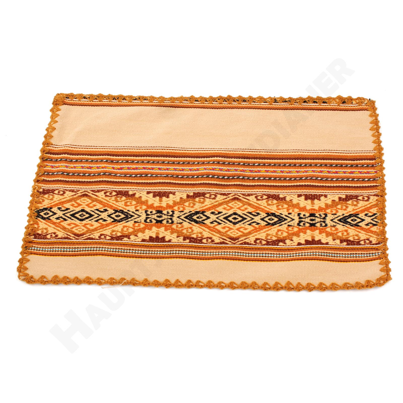 Tischset Altarteppich Teppich Handarbeit Direktimport Peru